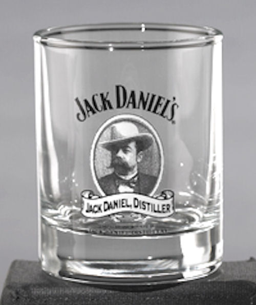 JACK DANIELS CAMEO SHOT GLASS